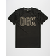 DGK Safe Custom Mens Jersey Tee