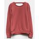 FULL TILT Bar Back Girls Sweatshirt