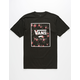 VANS Rose Print Box Mens T-Shirt