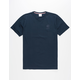 REEBOK Starcrest Embroidered Mens T-Shirt