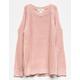 IVY & MAIN Cold Shoulder Girls Sweater