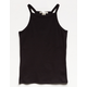 BOZZOLO High Neck Girls Jersey Tank