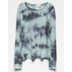 SKY AND SPARROW Tie Dye Girls Thermal