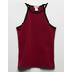 BOZZOLO Solid Girls Ringer Tank