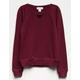 IVY & MAIN Girls Choker Sweatshirt