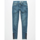 INDIGO REIGN Lace Up Girls Jeans