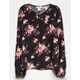 IVY & MAIN Floral Girls Babydoll Top