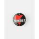 I Heart Zombies Pin