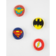 4 Pack DC Comics Pin Set