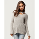 SKY AND SPARROW Cross Front Womens Sweater