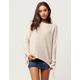 IVY & MAIN Tie Sleeve Womens Sweater