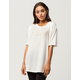 PUMA Elongated Fusion Womens Tee