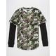 ASPHALT YACHT CLUB Army Mens 2fer T-Shirt