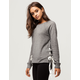 MIMI CHICA Side Ribbon Womens Sweatshirt