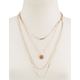 FULL TILT Glitter Layer Necklace