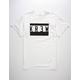 KR3W Blockup Locker Mens T-Shirt