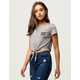 BILLABONG Chill Out Womens Crop Tee