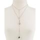 FULL TILT Double Locket Lariat Necklace