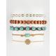 FULL TILT Ava Marble Square Friendship Bracelets