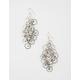 FULL TILT Rhinestone Chandelier Earrings