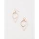 FULL TILT Double Teardrop Drop Earrings