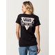 VANS Floral Fill Rolle Womens Tee