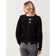 IVY & MAIN Lattice Back Womens Sweater