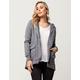 SKY AND SPARROW Fleece Sleeve Womens Anorak Jacket