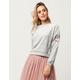 COCO & JAIMESON Velour Womens Sweatshirt