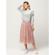COCO & JAIMESON Tulle Midi Skirt