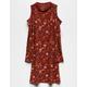 H.I.P. Floral Girls Cold Shoulder Dress