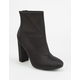 DELICIOUS Mid Womens Heeled Boots