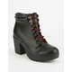 SODA Lace Up Womens Boots