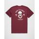 LEID TO REST Skull Lei Mens T-Shirt