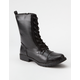 DIRTY LAUNDRY Radix Womens Combat Boots