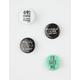 4 Pack Verbiage Pin Set