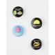 4 Pack Foodie Pin Set