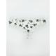 Lace Trim Floral Print Panties