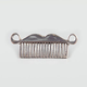 FULL TIL Mustache Comb Ring