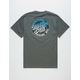 SANTA CRUZ Manufactured Dot Fade Mens T-Shirt