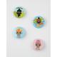 Stinky Poo Button Set