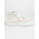 VANS Sequins Sk8-Hi Zip Girls Shoes