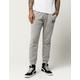 VOLCOM Booker Heather Gray Mens Sweatpants