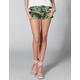 YMI Camo Womend Cutoff Denim Shorts