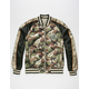 MEMBERS ONLY Reversible Mens Bomber Jacket