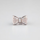 FULL TILT Rhinestone Bow Ring