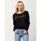 Friends Off The Shoulder Womens Sweatshirt