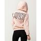 MISS CHIEVOUS Love Womens Windbreaker Jacket
