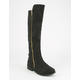 QUPID Side Zip Womens Riding Boots