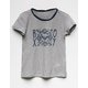ROXY Fast For Freedom Girls Ringer Tee